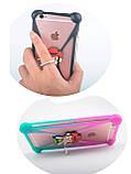 "Яркий универсальный чехол бампер с ушками Hello Kitty для 4""-5,5, фото 4"