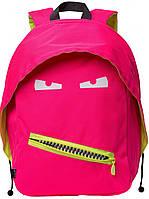 Яркий рюкзак GRILLZ 14 л  Zipit ZBPL-GR-4 цвет Neon Pink (розовый неон)