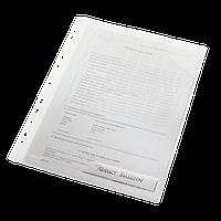 Папка-уголок Leitz Combifile, 3 секции, прозрачный, упак.3 шт.47290003