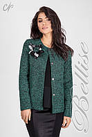 Нарядный женский пиджак из качественного материала