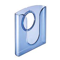 Лоток для документов Leitz, прозрачный синий54010034