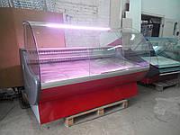 Холодильная витрина б/у Cryspi prima 1900 SN, витрина холодильная б у, прилавок холодильный б у, холодильная к