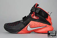 Кроссовки Nike Lebron Soldier 9 PRM EP Black/White/Bright Crimson