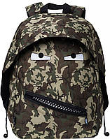 Практичный рюкзак GRILLZ 14 л  Zipit ZBPL-GR-6 цвет Camo Green (камуфляж зеленый)