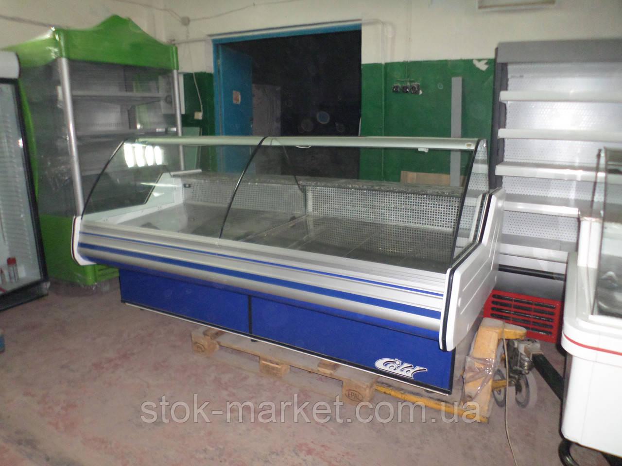 Холодильная витрина Cold W-24 N б/у, холодильная витрина б у, холодильный прилавок б у, витрина гастрономическ