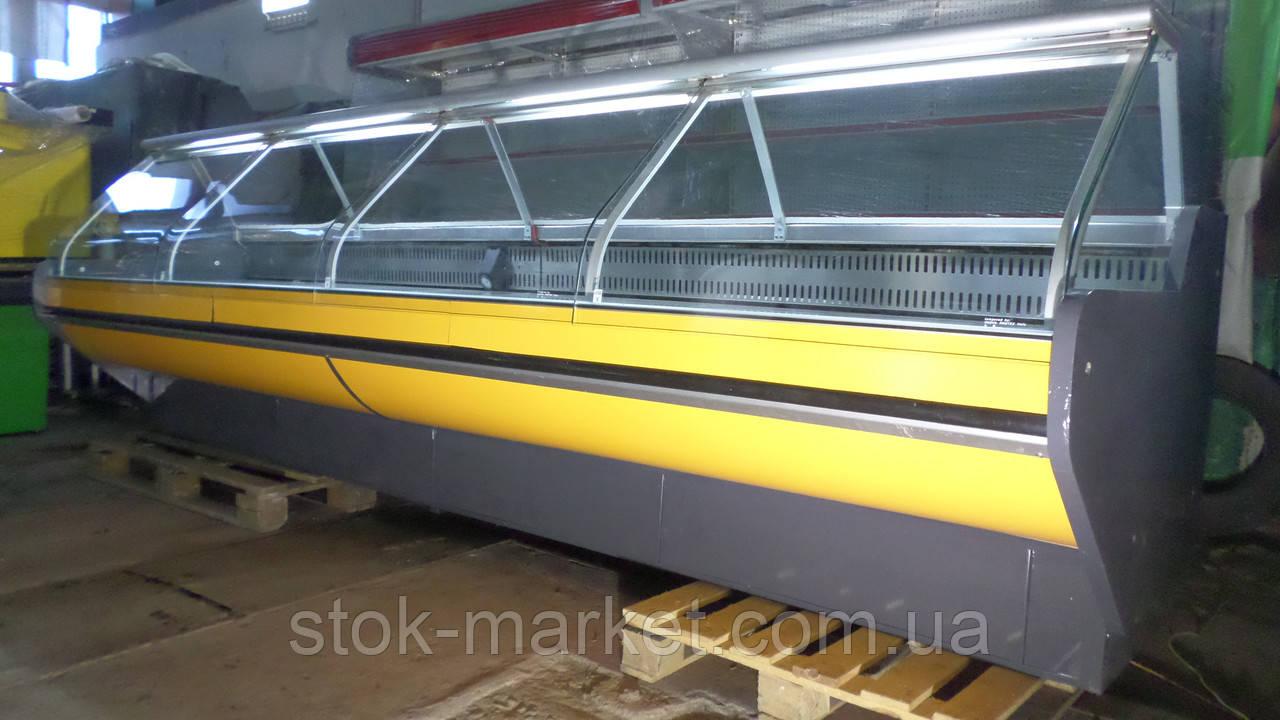 Холодильная витрина Vigodarzere UV 200 SV б/у, холодильный прилавок б у, холодильная витрина б/у, гастрономиче