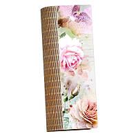 Деревянная шкатулка-пенал Бутоны, фото 1