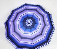 Зонт Полоски фиолетовый п/авт