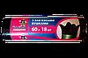 Пакеты для мусора с затяжками «УШКИ» 60л х 18 шт, фото 2