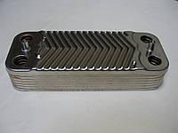 Теплообменник ГВС вторичный пластинчатый 14 пл. Protherm Пантера (Panther) v15, v17. Art. 0020043598, фото 1