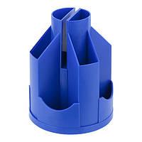 Подставка-органайзер Axent пластиковая на 11 отделений. Размер 103х135мм. Цвет: синий D3003-02