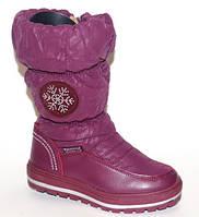 Зимние детские сапоги для девочки 28 размер