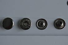 Кнопка альфа 15мм Нікель