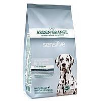 Arden Grange Adult Sensitive 12кг -беззерновой корм для собак с чувствительным пищеварение   (AG617345)