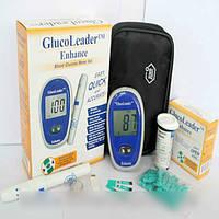 Глюкометр для определения уровня сахара в крови ENHANCE, запоминает 180 результатов, 25 тест-полосок