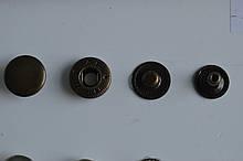 Кнопка альфа 15мм Оксид