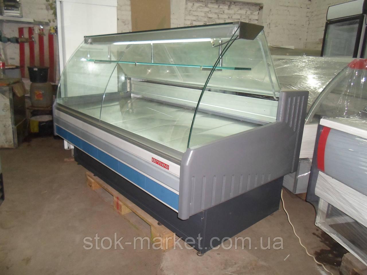 Холодильная витрина Arneg S Dallas 180 VC б/у, витрина холодильная б у, гастрономическая витрина б у, прилавок