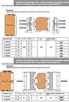 Фрезы для изготовления бруса дома В=80 мм160х40х90х4