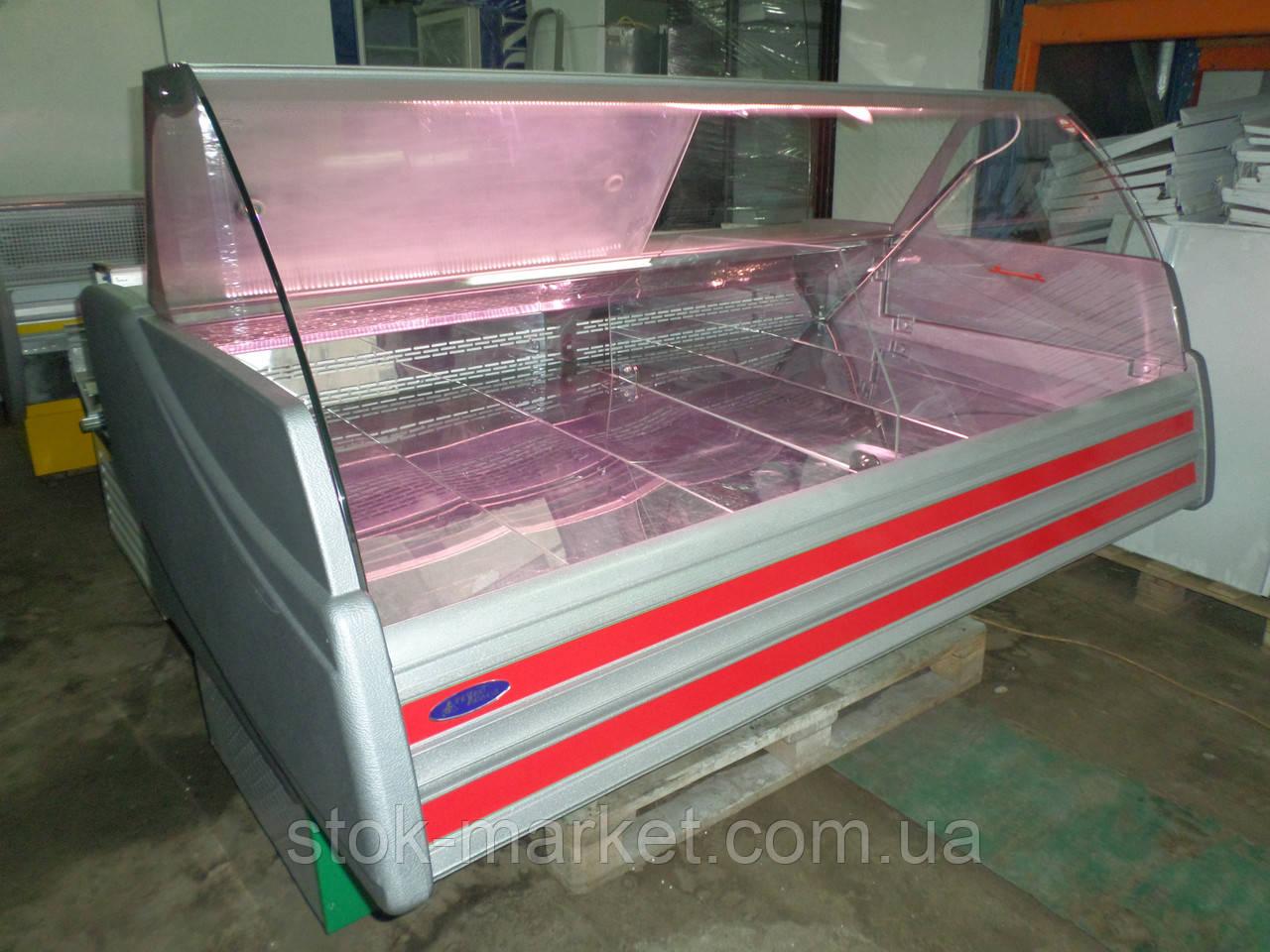 Холодильная витрина Технохолод 1,8 м. б/у, холодильная витрина б у, холодильный прилавок б у, холодильник б у