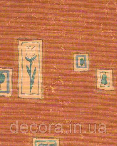 Рулонні штори Міні Айкон коричнева 4060 40см, фото 2