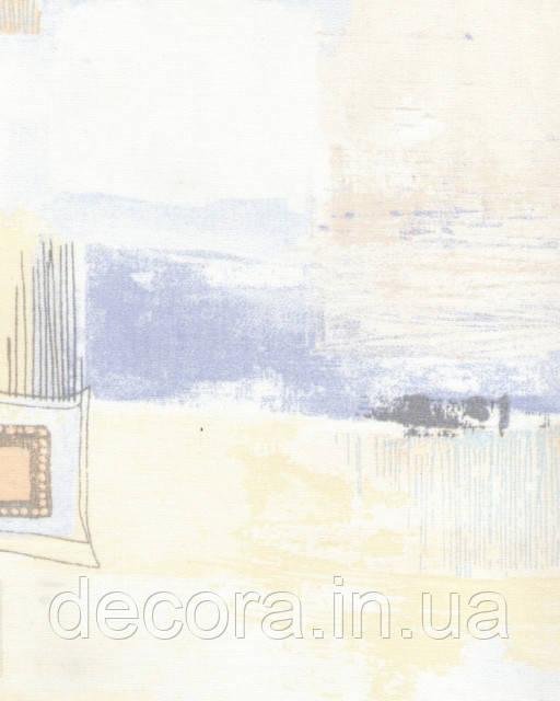 Рулонні штори Міні Зіг-заг бежевий 4048 40см