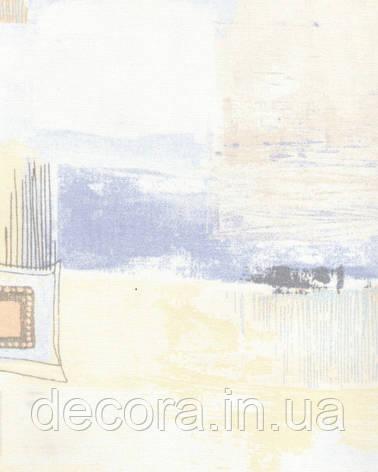 Рулонні штори Міні Зіг-заг бежевий 4048 40см, фото 2