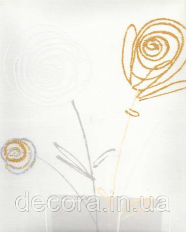 Рулонні штори Міні Айнара біла 4040 40см, фото 2