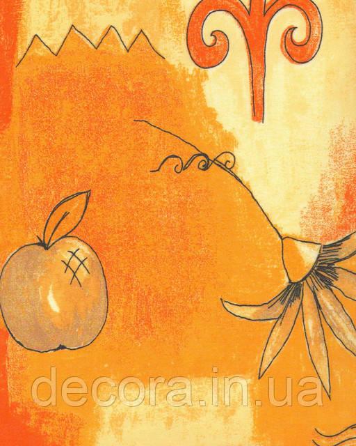 Рулонні штори Міні Цитрус оранж 4021 40см