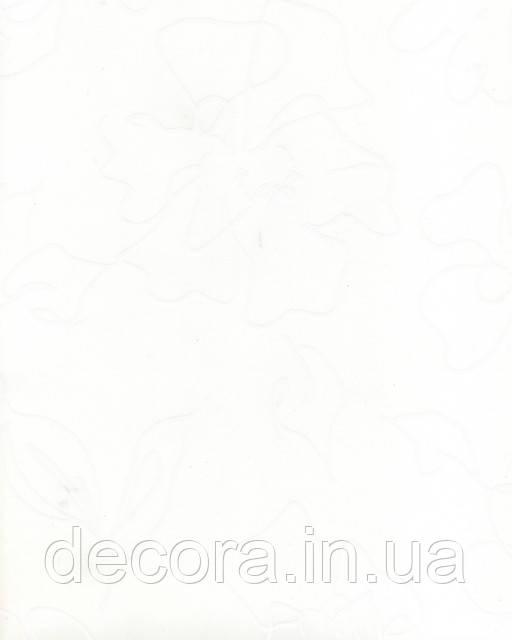 Рулонні штори Міні Флора біла 2055 40см