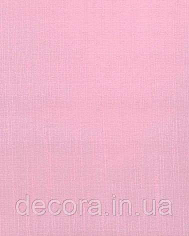 Рулонні штори Міні Панама розовий 2033 40см, фото 2