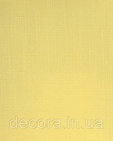 Рулонні штори Міні Панама жовтий 2032 40см, фото 2