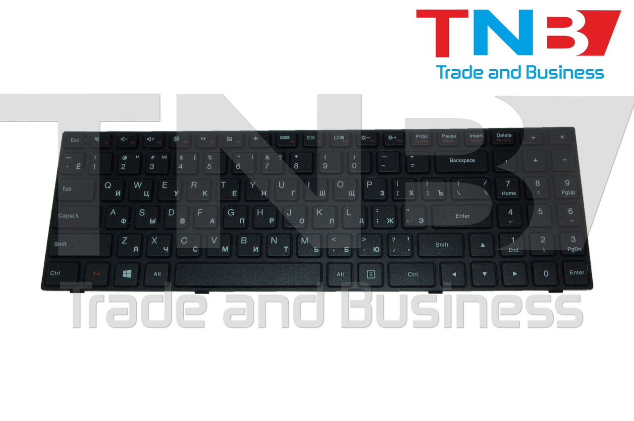 Клавиатура Lenovo IdeaPad 100-15 Черная (RUUS) Тип2