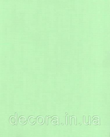 Рулонні штори Міні Лен зеЛений 1023 40см, фото 2