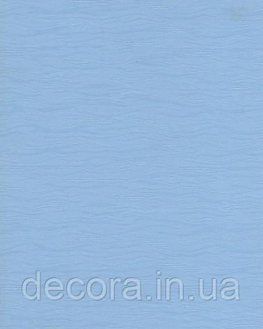 Рулонні штори Міні Ван Гог голубий 3020 40см, фото 2