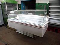 Холодильная витрина Linde 2 м. б/у, холодильная витрина б у, витрина б у, гастрономическая витрина б/у, холоди, фото 1