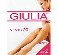Женские гольфы классические GIULIA VENTO 20 2 пары KLG-380