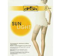 OMSA чулки SUN LIGHT 8 autoreggente KLG-356 купить чулки от производителя Италия