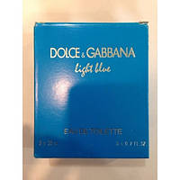Dolce Gabbana Light Blue edt 3шт x 15 ml