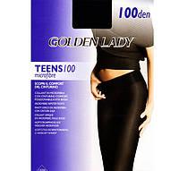 Плотные женские колготки GOLDEN LADY TEENS 100 vita bassa  KLG-306
