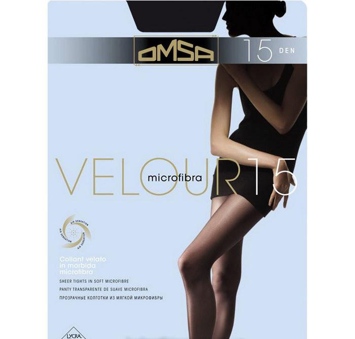 19cb5179dcdb OMSA колготки VELOUR 15 KLG-30 интернет-магазин итальянских колгот