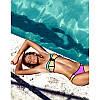 Яркий комбинированный купальник оптом D5700