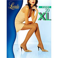 Отличные капроновые колготки женские LEVANTE EVERY 20 XL KLG-111