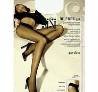 Прозрачные колготки с заниженной талией Sisi (Италия) BE FREE 40 vita bassa KLG-42