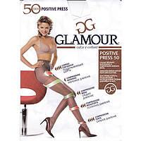 Полупрозрачные колготки, плотностью 50 ден GLAMOUR POSITIVE PRESS 50  KLG-134