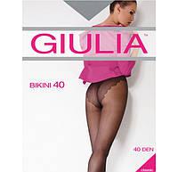 Женские колготки с изящными кружевными трусиками GIULIA BIKINI 40  KLG-160