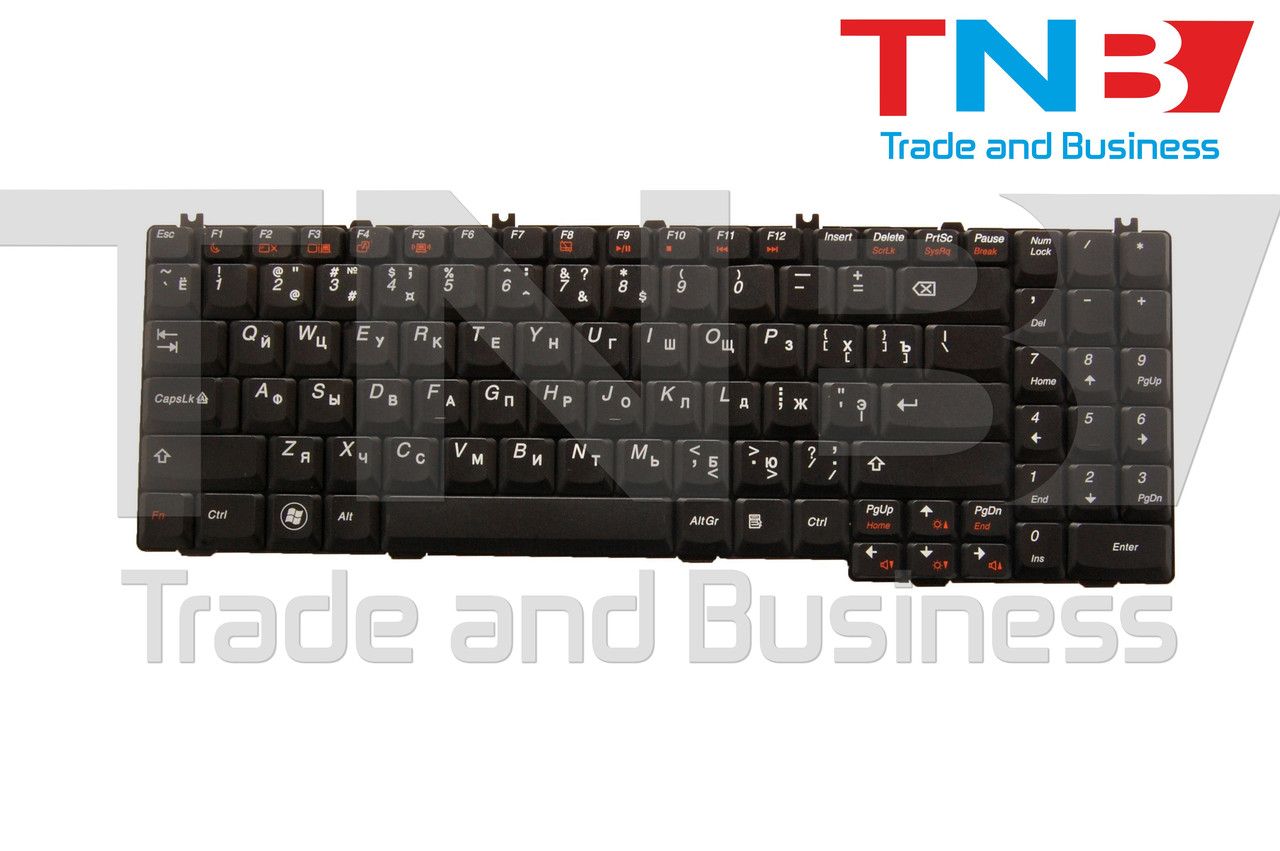 Клавиатура Lenovo IdeaPad G550, G555, B550, B560, V560 Series черная RUUS