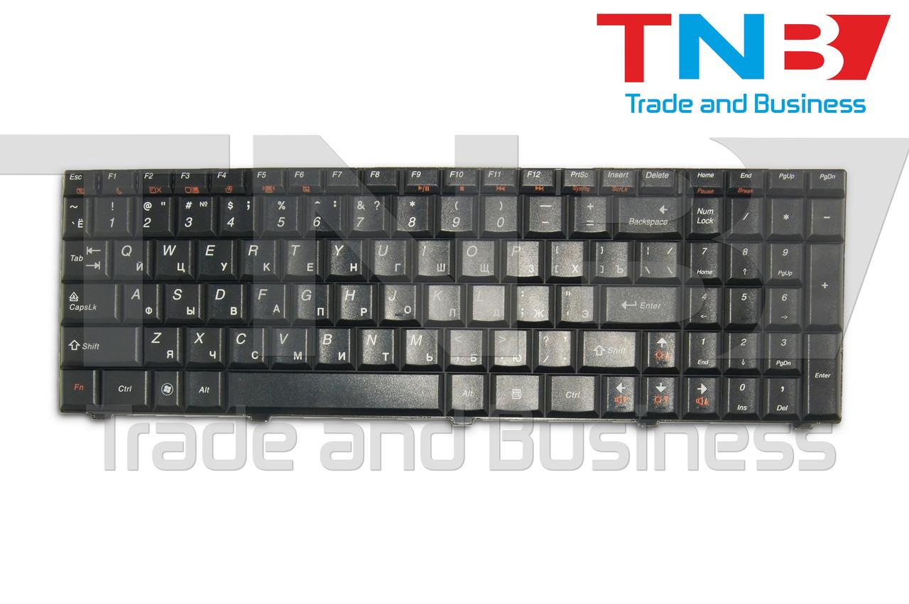 Клавиатура Lenovo IdeaPad G560 G565 3000 Series черная RUUS