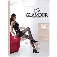 Женские колготки с массажным эффектом GLAMOUR POSITIVE PRESS 30 KLG-133