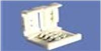 Коннектор пластик без провода для Led ленты SMD 5050, 10мм RGB Ledex