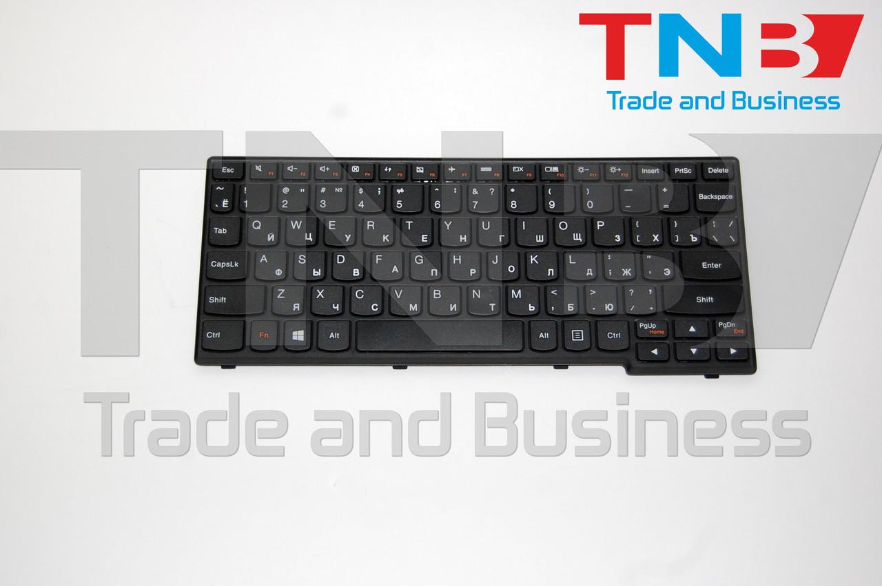 Клавиатура LENOVO IdeaPad S206 S200 черная RUUS